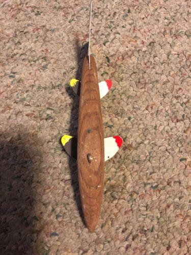 Ice Fishing Decoy by Lamont Mounsdon ice fish spearing spear decoy SHIPS FREE US