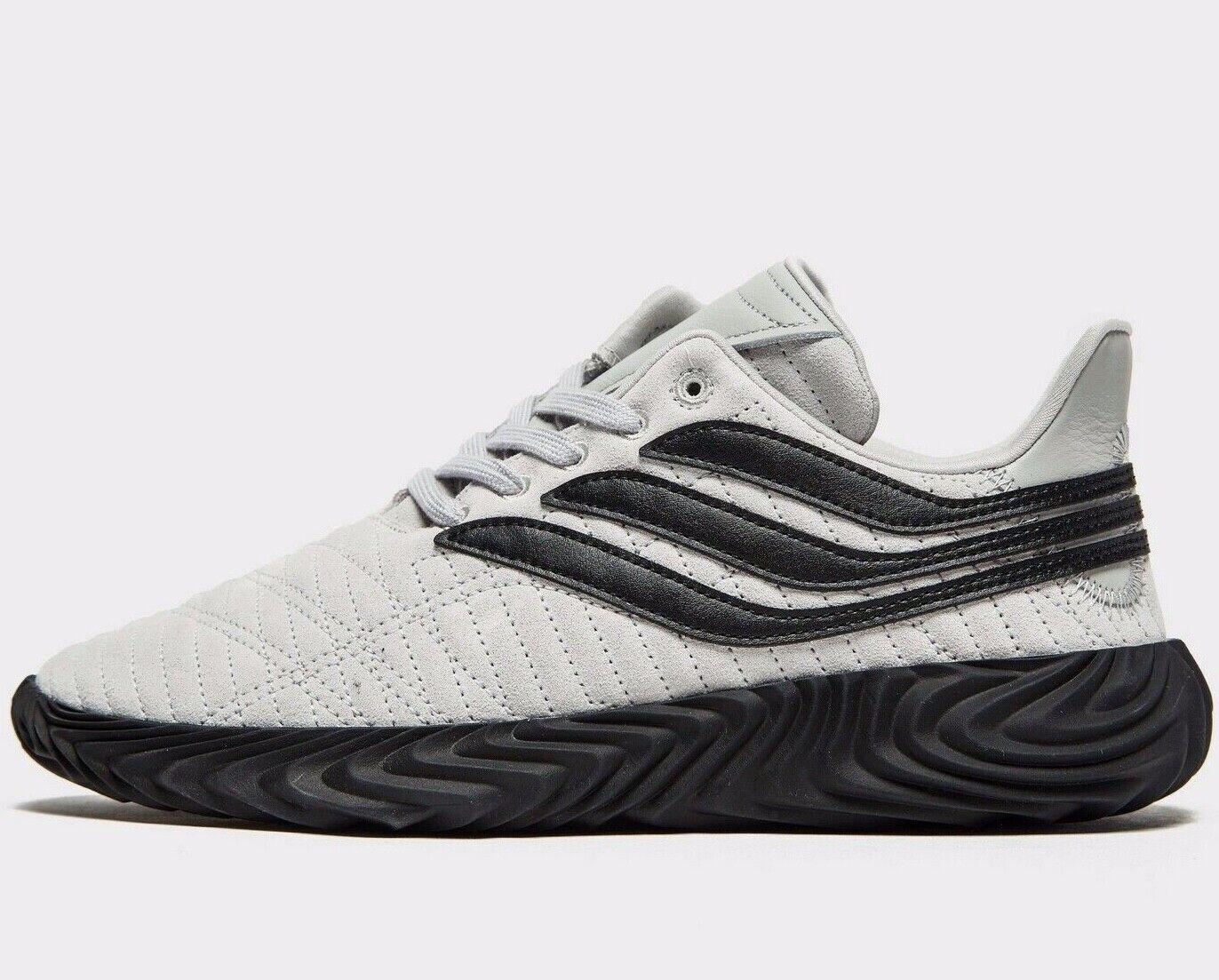 ⚫⚫ 2019 Genuine Adidas Originals SOBAKOV ® ( Men UK Sizes: 6 12 ) Grey Black