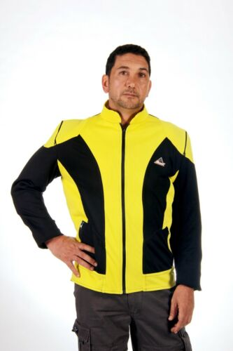 Motorcycle hot weather riding mesh textile jacket reinforced with Kevlar®