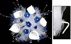 Royal Blue Quinceanera Bouquet