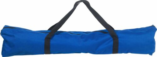 Single Blue ProAction Folding Steel Frame Camping Bed