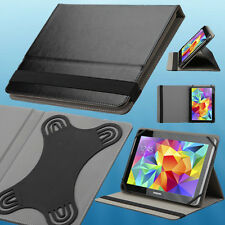 """Black Universal Tablet Flip Leather Folio Case Stand Cover for 9""""-10.1"""" Tablets"""