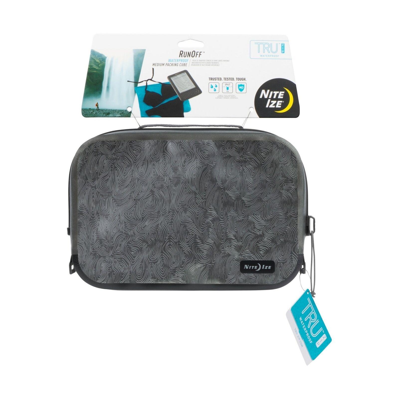 Nite Ize escorrentía Waterpoof Medio De Embalaje cubo de Compresión Bolsa De Viaje (3 paquetes)
