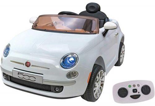 Globo Auto Macchina Elettrica per Bambini 12V Fiat 500 Colori A scelta