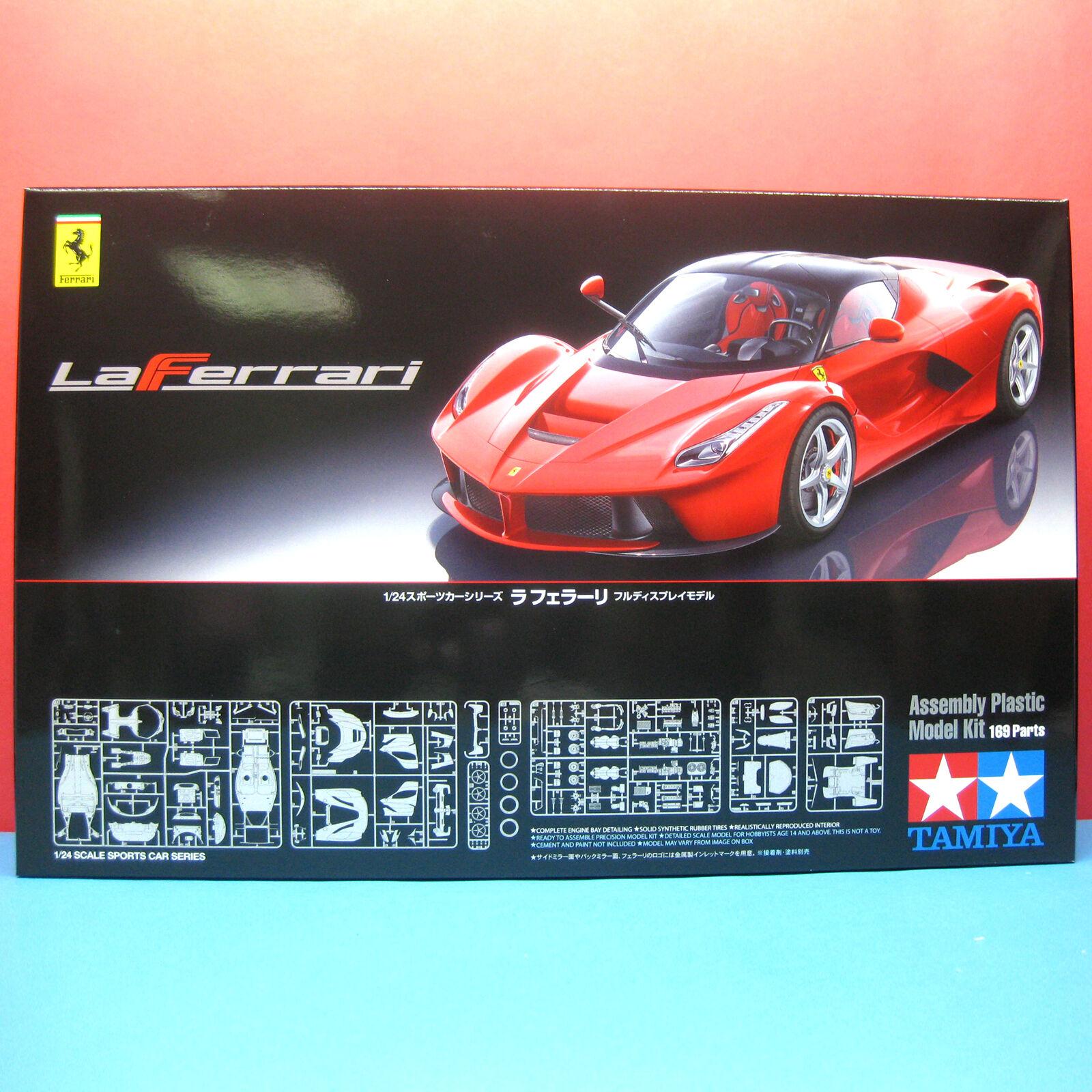 Tamiya 1 24 Ferrari LaFerrari Model Kit