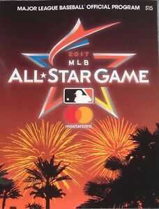 2017 MLB Major League Baseball All Star Game Official Program New