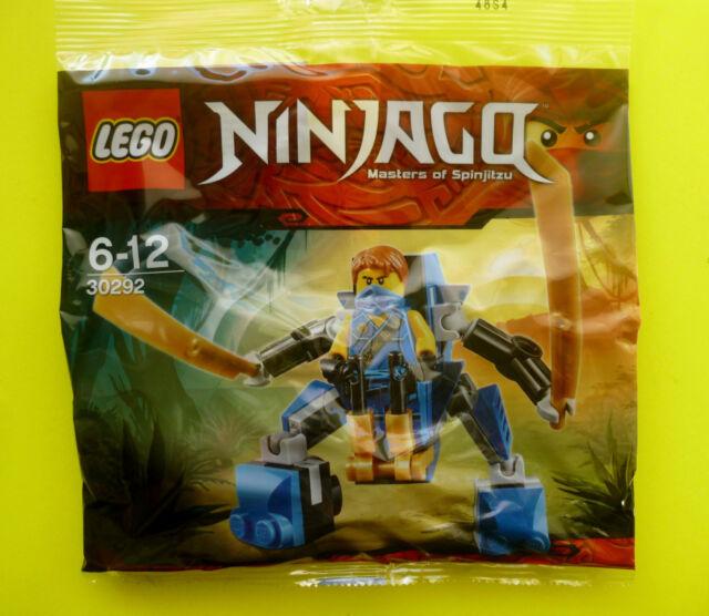 Lego Ninjago 30292 Jay Nano Mech Polybag Ninja Neu Ovp 2015