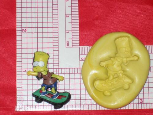 Bart Simpsons Silicone Push Mold A579 For Craft Chocolate Resin Clay Fondant