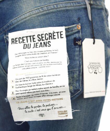 Le Des Temps Jeans Cerises Mod 7 8 KvfqTcKa