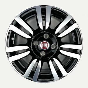 Set 4 Cerchi in lega ORIGINALI Fiat Grande Punto e Punto evo da 15 bicolore new
