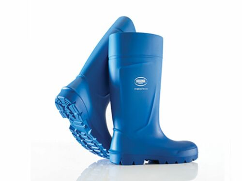 BEKINA PU-Stiefel Arbeitsstiefel Sicherheitsstiefel Steplite blau S4 Gr.43