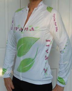 JIVANA-Cycling-Bike-Jersey-Light-weight-Jacket-Top-Ladies-Womens-XS-S-M-L-XL-XXL