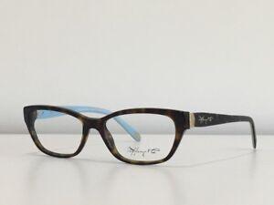 143667d0a68e 14 Tiffany   Co. TF 2114 8015 Rectangle Havana Blue Eyeglasses Frame ...