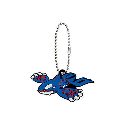 8 Pokemon Kyogre Rubber Key Chain Collection Vol