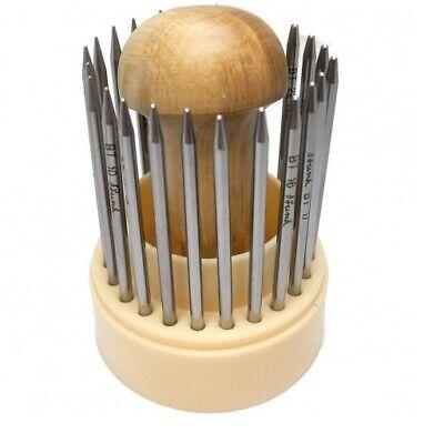 Busch Swiss joyeros del grano grano ajuste de piedras preciosas de conjunto de herramientas Setters Herramientas-TG60