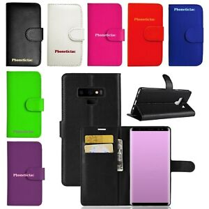 Leather-Wallet-Case-Book-Cover-For-Samsung-Galaxy-J4-J6-J8-A9-A6-S9-S10