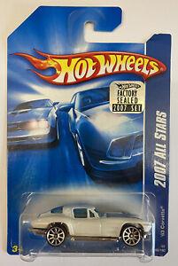 2007 HOTWHEELS 1963 63 Chevy Corvette Sting Ray, American Muscle, MOC! molto rara!