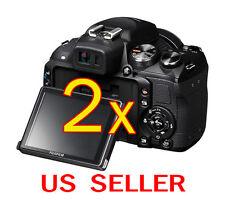 2pcs Fujifilm FinePix HS25EXR Clear LCD Screen Protector Guard Shield Film