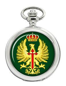 Spanische-Armee-Ejercito-De-Tierra-Taschenuhr