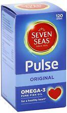 Seven Seas Pulse Omega-3 Pure Fish Oils - 120 Capsules