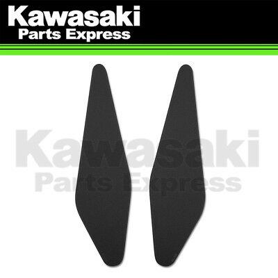 Genuine Kawasaki Accessories Tank Knee Pads BLACK 17-19 KAWASAKI EX650F