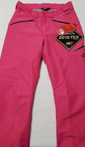 WATERPROOF EZ GROW PETTICOAT PINK NORTH FACE GIRLS FRESH TRACK SKI PANTS NWT