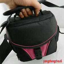 Camera Bag Case P-S for SAMSUNG NX1000 NX210 NX20 NX200 NX11 NX100 PINK