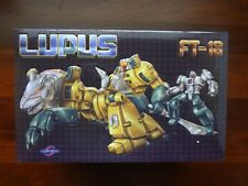 New Transformer Fans Toys FT-18 Lupus G1 Masterpiece Scale WeirdWolf (US Seller)