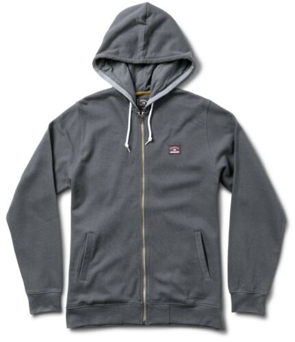 Mens Carroll Hood Mike Grey Fourstar Clothing Zip Sweatshirt Skateboards Iq7p1