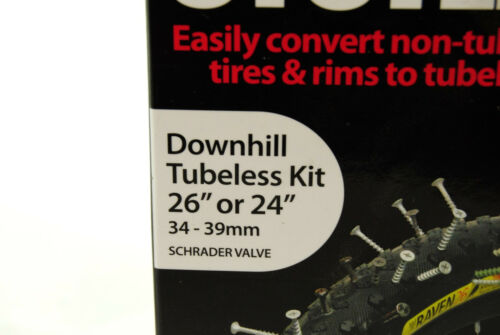 """Pair 34-39mm Rim Stan/'s No Tubes Downhill Tubeless System 26/"""" or 24/"""""""