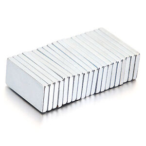 5/10/20pcs Super Strong Block Fridge Magnets Rare Earth Neodymium 20x10x2mm