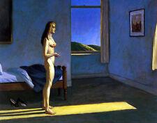 Hopper Edward A Woman In The Sun Canvas 16 x 20   #4694