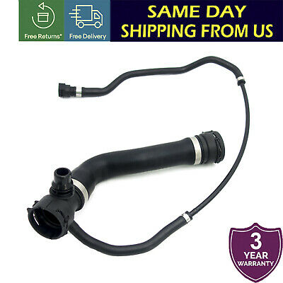 X AUTOHAUX Radiator Coolant Water Hose from Expansion Tank 17127548203 for BMW 135i Z4 335i