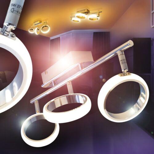 Design LED Deckenleuchte Lampe Deckenstrahler Zimmer Deckenspot Deckenlampe 3er