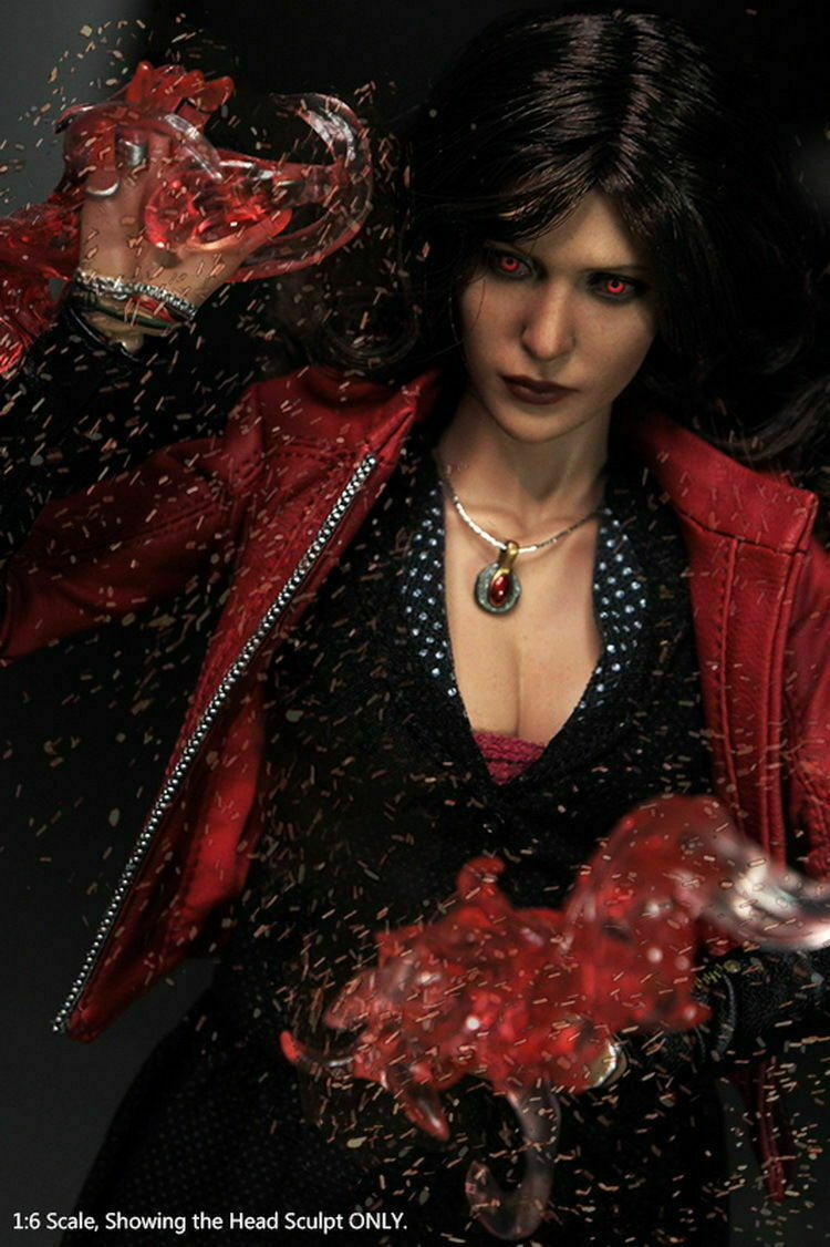 1 6 Los Vengadores SCochelet Witch Ropa Set Traje de Bricolaje Accesorio Figura Femenina Juguetes