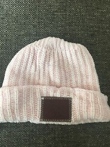 Image is loading Love-Your-Melon-Kids-Pink-Cuffed-Beanie-New- 83c0543687f