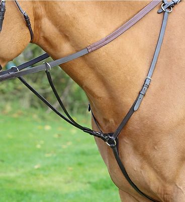 Shires Huntweight Breastplate Martingale