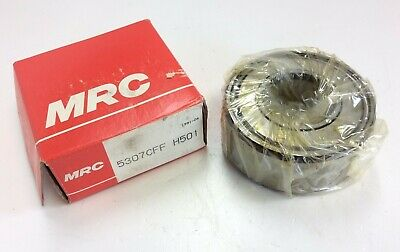 "MRC SKF 5307 CFF  35mmX 80mmX 1.375/"" Double Row Angular Contact Bearing"