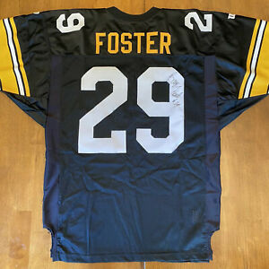 Details about Barry Foster Signed Autographed Authentic Steelers Wilson Proline Jersey
