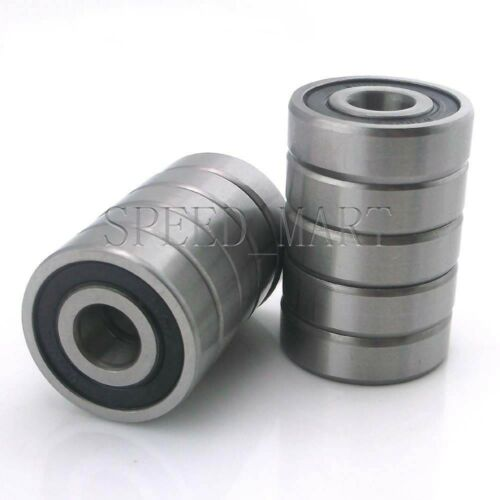 15mm*35mm*11mm 10PCS 6202-2RS Deep Groove Ball Bearing