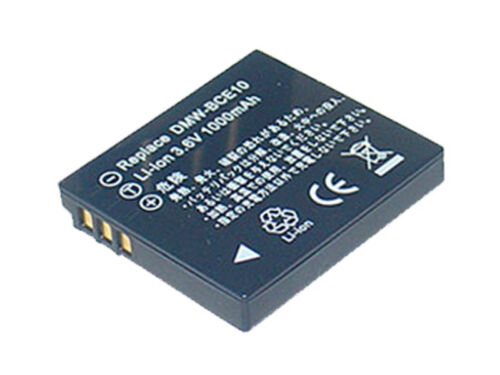 Batería Para VW-VBJ10 PANASONIC LUMIX DMCFX 55EG K DMCFS 3S SDR-S15 SDR-S26 Cargador