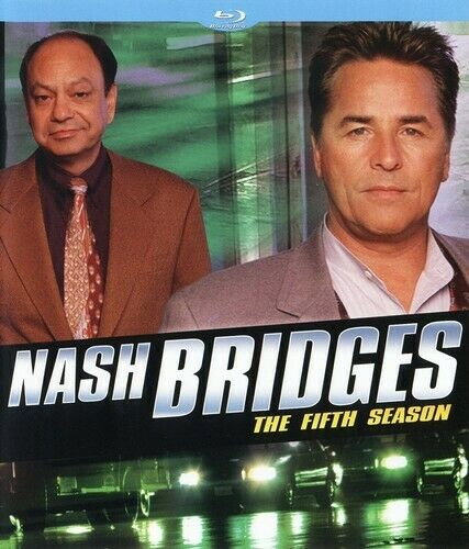 Nash Bridges: The Fifth Season (Season 5) (3 Disc) BLU-RAY NEW