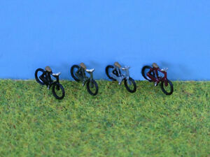 N gauge Painted Bikes - P&D Marsh PDX52 free post F1