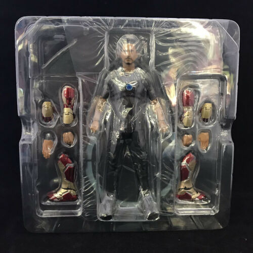 Max Factory Figma Marvel Avengers Iron Man 3 Iron Man Mark Action Figure 17cm