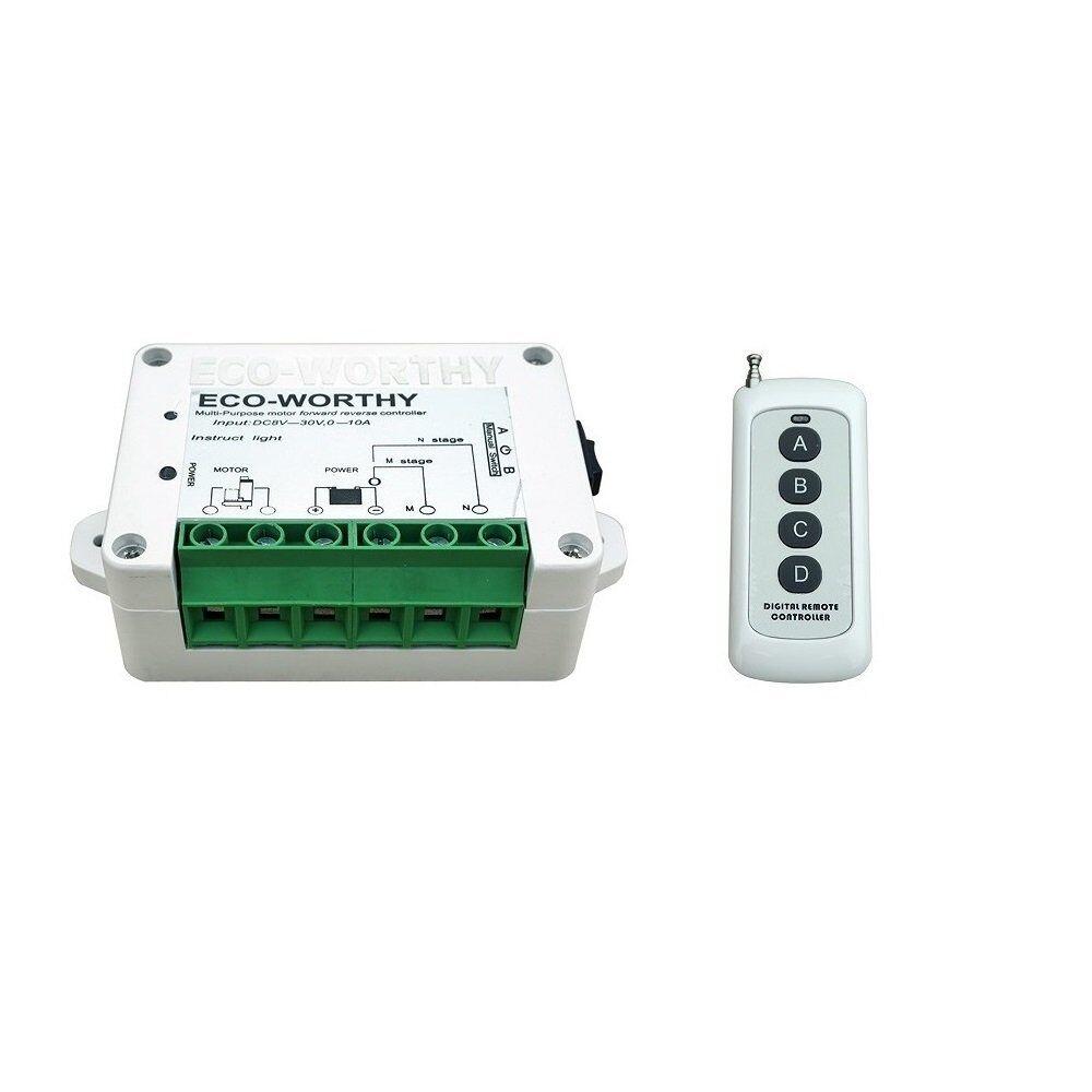 ECOWORTHY  Telecomando wireless per motori, attuatore lineare, DC, h1c