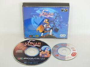 Mega-CD-LUNAR-ETERNAL-BLUE-No-Instruction-cbn-Sega-Japan-Game-mcd