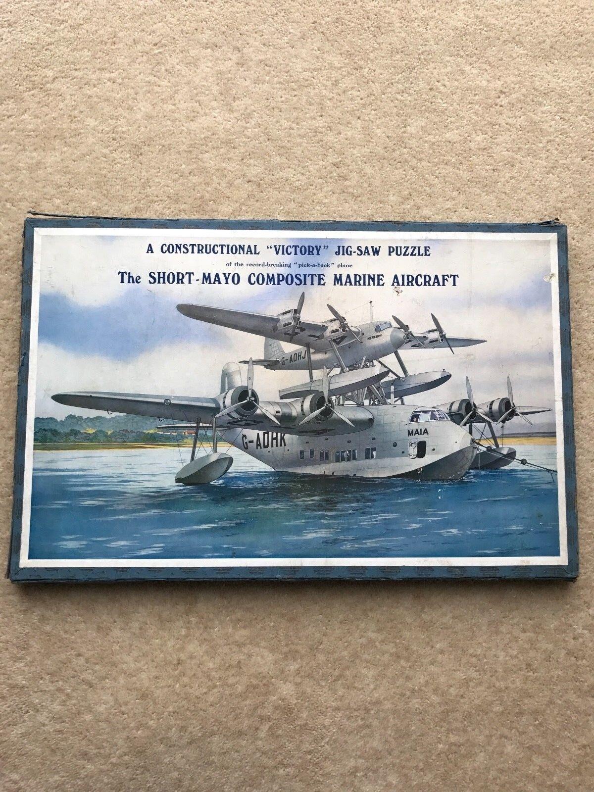 Rare 1930 S The SHORT MAYO COMPOSITE Marine Aircraft Victory 2 étages Jigsaw Puzzle | Vendant Bien Partout Dans Le Monde  | La Qualité  | Technologies De Pointe  | Formes élégantes