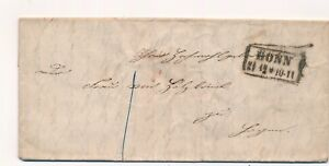 Lettre-BONN-Germany-Cover-Brief