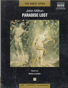 John-Milton-Paradise-Lost-3-Cassette-Audio-Book-Abridged-Anton-Lesser-FASTPOST