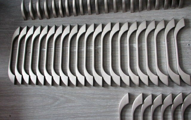 "lot 50, 6.5"" Satin Nickel Kitchen Cabinet Door Drawer  Handle Pull knob 63SN128"